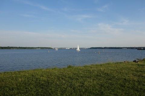 Blick auf Kiel